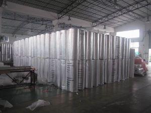 Attic Insulation With Aluminum Foil and PE Bubble