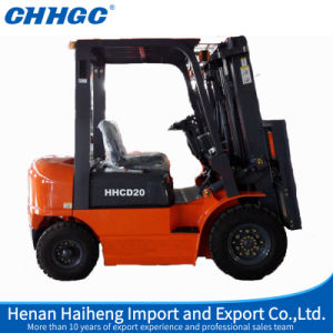 2ton Small Diesel Forklift Truck Cpcd20 with 2000kg Rated Capacity pictures & photos