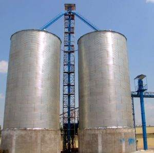 Steel Silos with Plat Bottom pictures & photos
