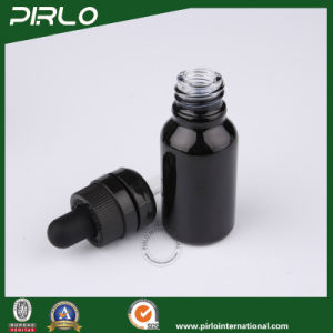 5ml 10ml 15ml 20ml 30ml 50ml 100ml Black Glass Dropper Bottle Child Resistant Dropper pictures & photos