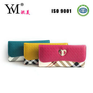 Hot Selling PU Women Wallets Ladies Purse pictures & photos