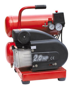 One Stage Oil-Lubricated Reciprocating Belt Drive Air Compressor (LW2012)