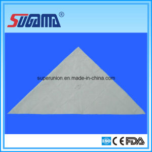 Medical Disposable Cotton Triangular Bandage pictures & photos