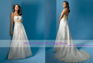 Wedding Dress & Bridal Gown (Hs51-Mic)
