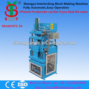 Hydraulic High Quality Sy1-10 Cement Brick Making Machine Hot-Selling Kenya pictures & photos