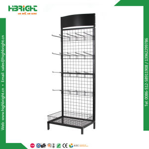 Single Side Wire Mesh Display Rack Store Display Stand pictures & photos