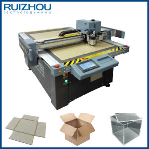 CNC Gray Board Box Sample Cutting Machine pictures & photos