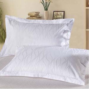 100% Cotton Pure White Hotel Pillowcase pictures & photos