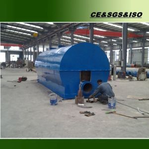 10 Tons Vacuum Waste Oil Distillation Plant for Diesel