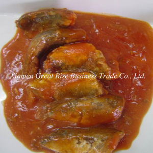 Delicious Organic Canned Sardine in Tomato Sauce for Instant Food Wholesale