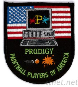 Embroidered Emblem-Paintball, Embroidered, Patch, Emblem pictures & photos