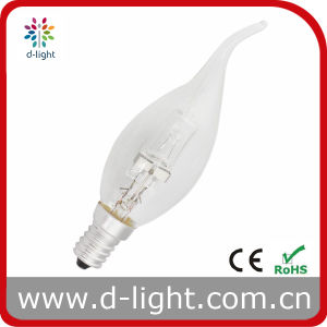 18W 28W 42W 52W E14 Candle Tailed Clear Frosted Cal35 Eco Halogen Bulb pictures & photos