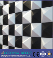 3D Building Material Polyester Fiber Acoustic Panel pictures & photos