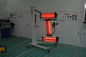 Industrial Faster Temperature Rising Infrared Curing Systems pictures & photos