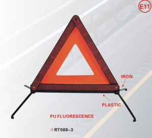 Reflecting Emergency Warning Triangle with E-MARK (WT08)