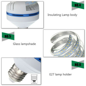 New Spiral LED Corn Bulb SMD2835 16W 360 Degree pictures & photos