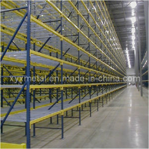 Typical Run of Pallet Storage Rack with Wire Mesh Decking pictures & photos