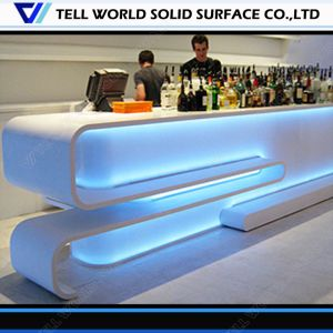 150 Kinds Designs Carving Flowers Light up Hotel Bar Counter Hot Sell Luxurious Bar Counter Hotel Bar Counter pictures & photos