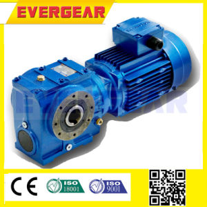 Electric Motor Speed Reducer Helical Worm Hollow Shaft pictures & photos