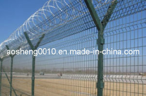 PVC Coated Mesh Fencing Ral-6005