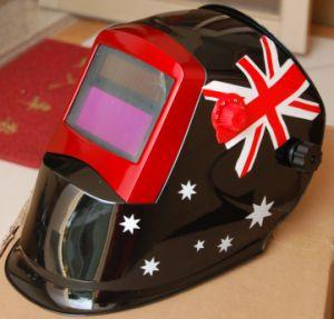 Auto-Darkening Welding Helmet DIN9-13 < 1/25, 000s Mask (S8002) pictures & photos