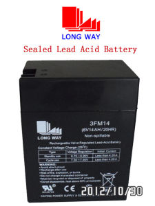 6volt Rechargeable Toys Storage Sealed Lead Acid Battery pictures & photos