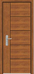 Solid Wooden Door (YFM-8005) pictures & photos