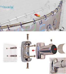 Curved Shower Curtain Rod (HM-1987) pictures & photos