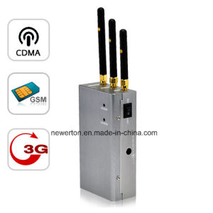 Handheld CDMA GSM 3G Cellular Phone Jammer pictures & photos