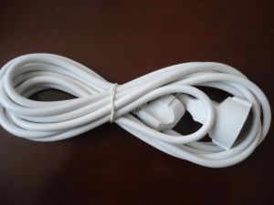 OEM Color Euro Type Extension Cord Power Cord pictures & photos