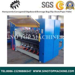 Sharping Blade Honeycomb Slicing Machine for Paperboard pictures & photos