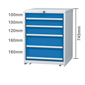 5 Drawers Steel Tool Cabinet pictures & photos