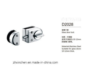 Xc-D2028 High Quality Stainless Steel Furniture Hardware Glass Door Lock pictures & photos