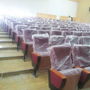 Conference Chair, Auditorium Seat, Conference Hall Chairs, Push Back Auditorium Chai, Plastic Auditorium Seat, Auditorium Seating (R-6165) pictures & photos