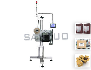 Carton Labeling Machine (top or side) / Labeler pictures & photos
