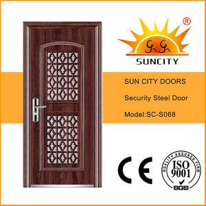 India Single Door in Door with Window Sc-S068 pictures & photos