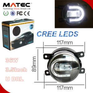 New 3.5inch 30W CREE LED Fog Light for Car with DRL pictures & photos