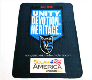 Printed Polyester Polar Fleece Blanket/Promo Blanket pictures & photos