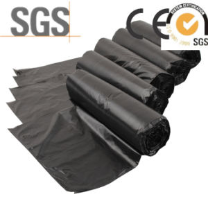 PE Draw-String Household Trash Bag Disposable Garbage Bags pictures & photos