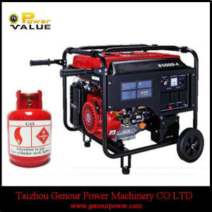 Home Use China 3kw 3kVA LPG Silent Generator for Sale pictures & photos