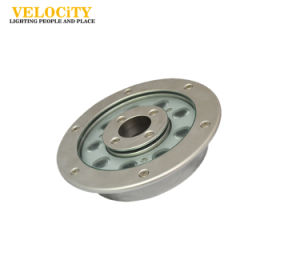 24V IP68 RGB Stainless Steel Recessed Underwater LED Fountain Light pictures & photos