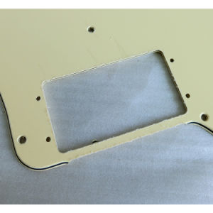 3ply Cream Color Hh Tele Deluxe Guitar Pickguard pictures & photos