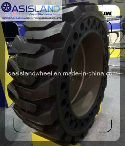 Solid OTR Tyre (14.00-24) with Wheel Rim for Scraper Equipment pictures & photos