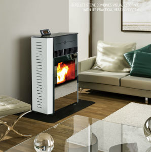 Hot Product Wood Pellet Stove pictures & photos