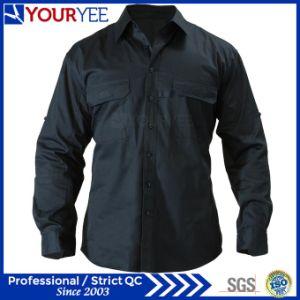 Custom Long Sleeve Work Shirts Unisex Shirt (YWS110) pictures & photos