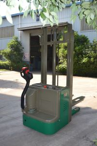 Electric Pallet Stacker Tbc Export to EU Market pictures & photos