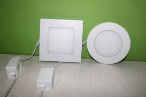 3W 6W 9W 12W 16W 18W 24W Round Square LED Ceiling Panel, LED Panel Light pictures & photos
