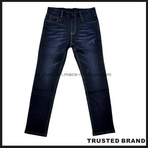 Top Designer Men′s Straight Leg Spandex Jeans (T095)