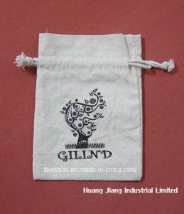 100% Environmental Cotton Drawstring Gift Bag with Logo pictures & photos
