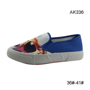 Women Canvas Injection Boots Casual Newest Shoes (AK336) pictures & photos